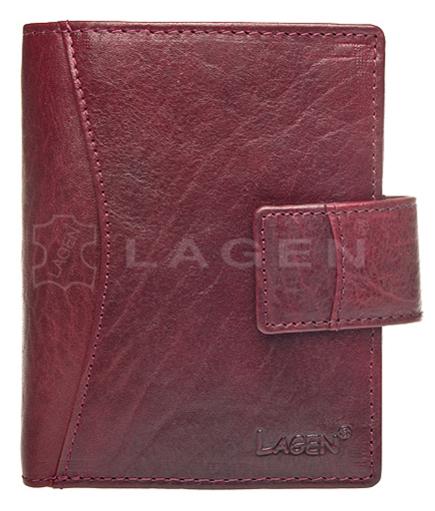 Lagen Dámska kožená peňaženka 3808/T Red