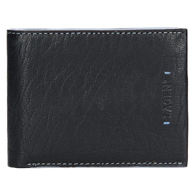 Lagen Pánska kožená peňaženka 3981 Black
