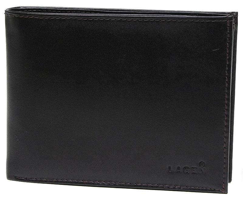 Lagen Pánska hnedá kožená peňaženka Dark Brown V-3-2