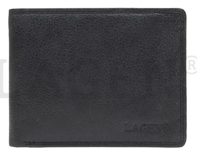 Lagen Pánska kožená peňaženka 103 Black