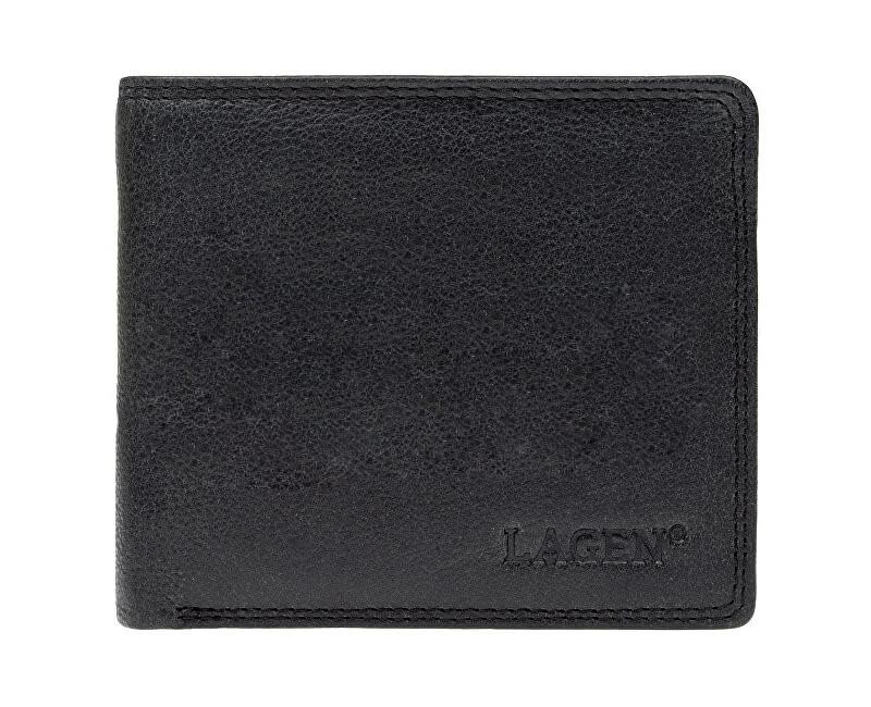 Lagen Pánska kožená peňaženka 1154 Black
