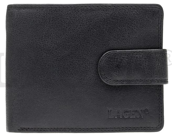 Lagen Pánská kožená peněženka 4006 Black