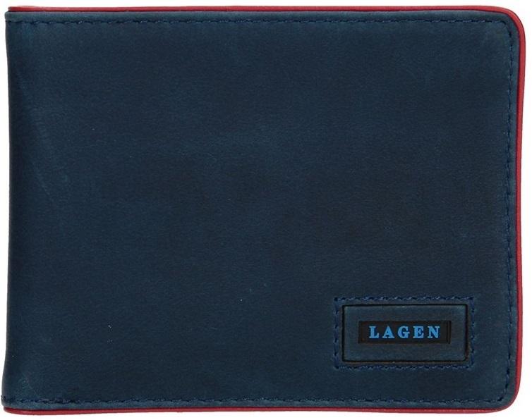 Lagen Pánska kožená peňaženka 50043 BL