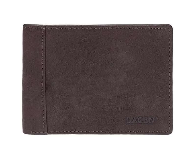 Lagen Pánska kožená peňaženka 7176 E BRN