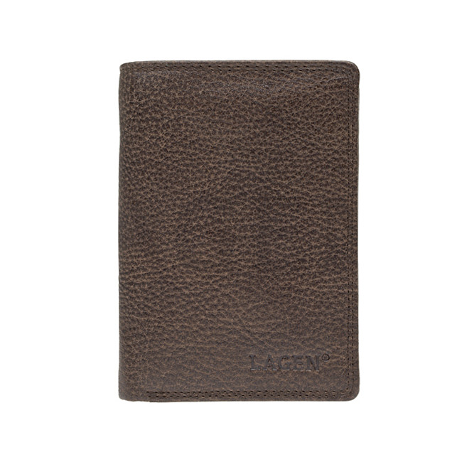 Lagen Pánska kožená peňaženka 90752 Dark Brown