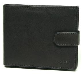 Lagen Pánska kožená peňaženka V-42 Black