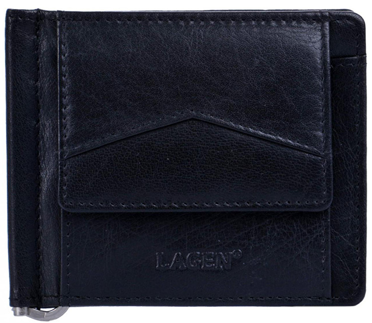 Lagen Pánska peňaženka W-2018 Black