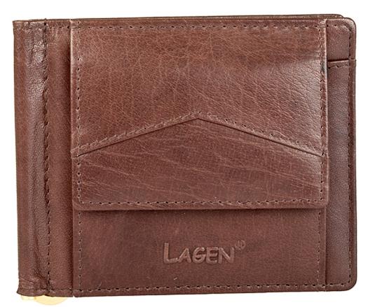 Lagen Pánska peňaženka W-2018 Brown