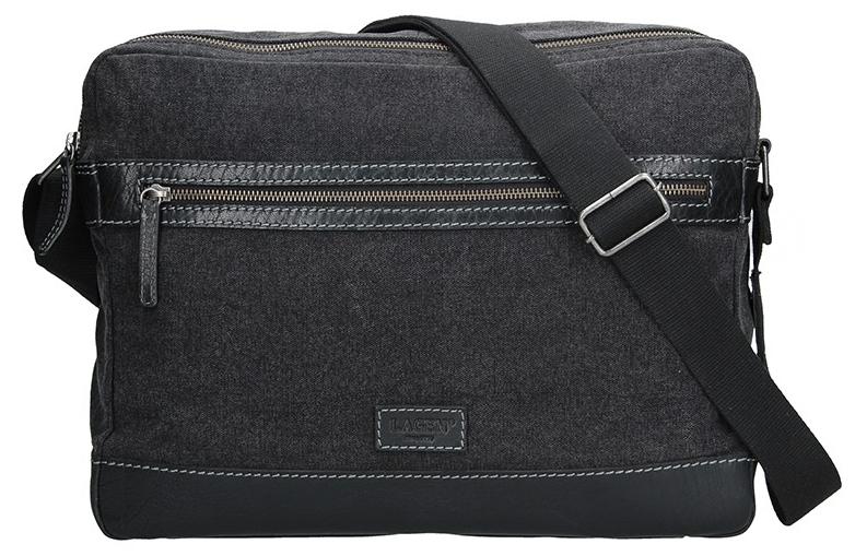 Lagen Pánská taška přes rameno LN 22406 Black