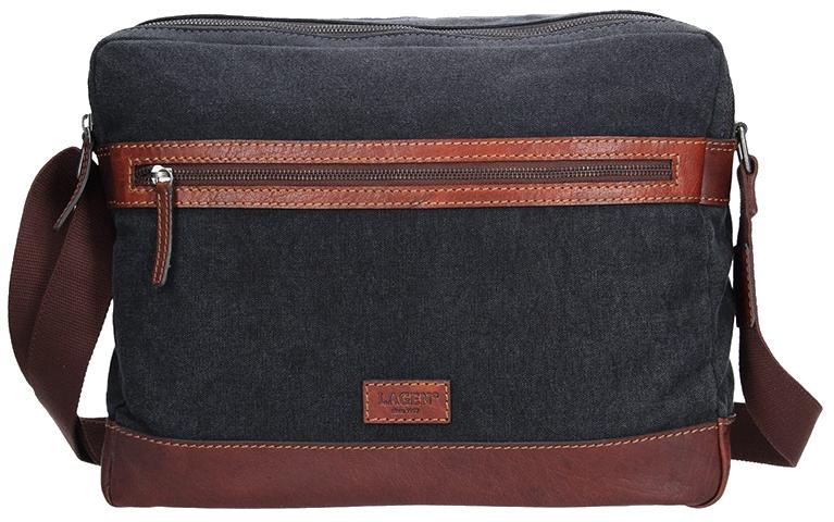 Lagen Pánská taška přes rameno 22406 TAN/NAVY