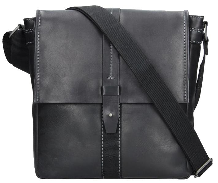 Lagen Pánska taška cez rameno 22420 BLACK