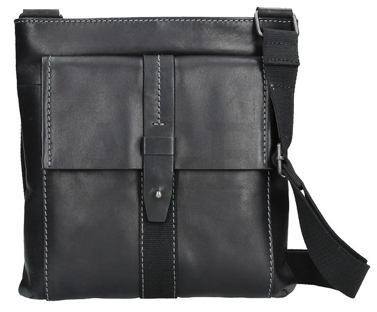 Lagen Pánska taška cez rameno 22421 BLACK