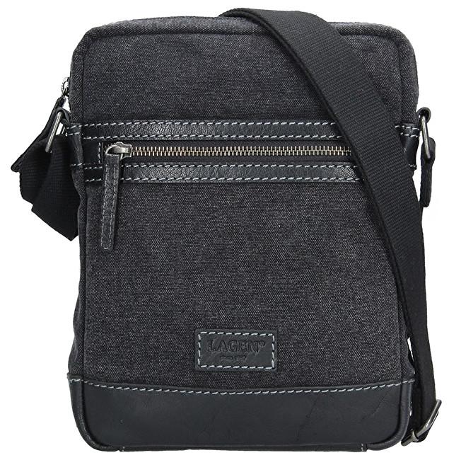 dd1c829ecf Lagen Pánska taška cez rameno 23306 BLACK