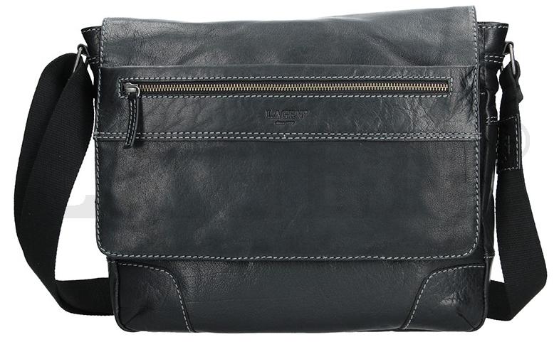Lagen Pánska taška cez rameno 23307 BLACK