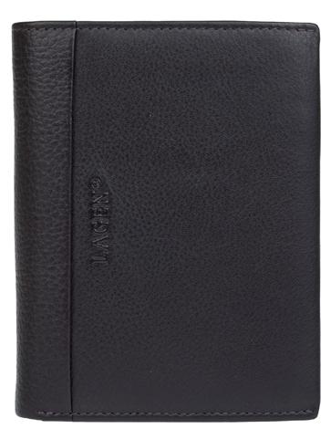 Lagen Pánska tmavo hnedá kožená peňaženka Dark Brown/Brown 5641