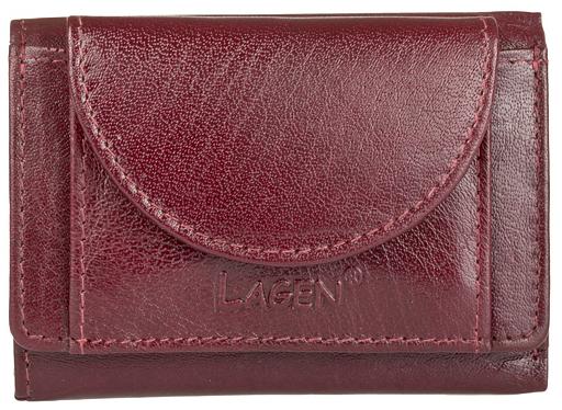 Lagen Kožená peňaženka W-2030 Red