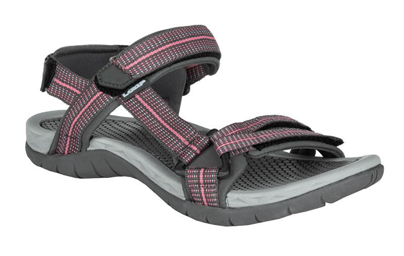 LOAP Dámske sandále Cicsa Dk Shadow/Blue SSL19151-T15L 36