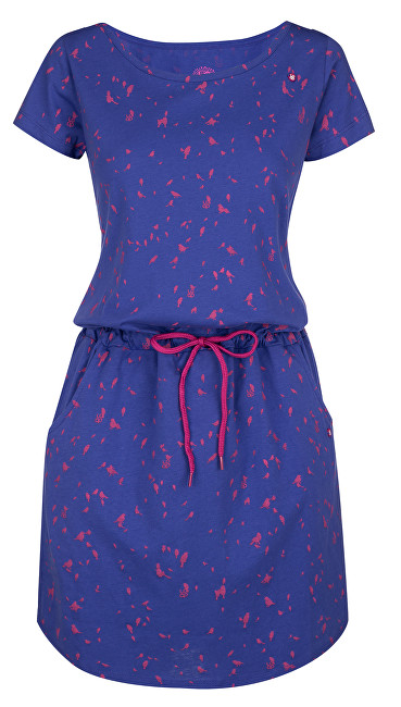 LOAP Dámske šaty Amber Rl Blue CLW1836-M33X S