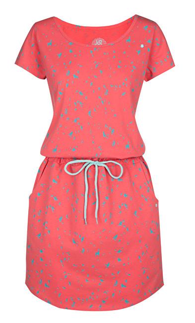 LOAP Dámske šaty Amber Sugar Coral CLW1836-J93X S