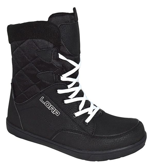 2e8158dd33ea LOAP Dámske zimné topánky Portico black-bl.de blanc SBL1626-V11A 36