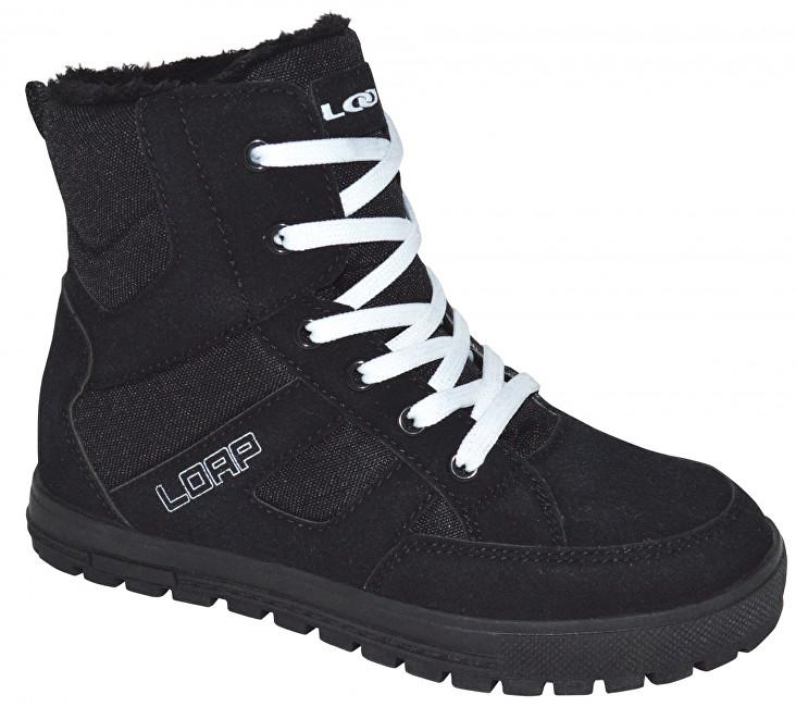 LOAP Dámské zimní boty Veona Black/Bl De Blanc SBL1630-V11A 36