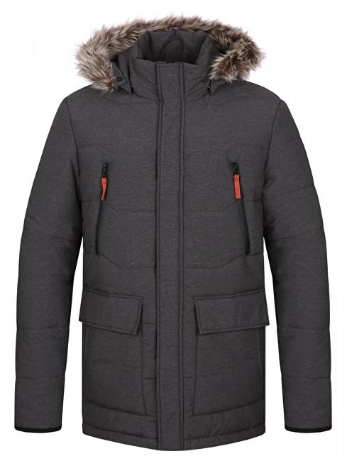 LOAP Pánska zimná bunda do mesta Tron Dk Melange šedá CLM1738-T49X L b818bb0740f