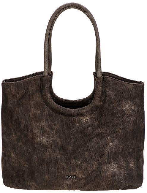 LYLEE Elegantní kabelka Frances Shopping Bag Dark Brown