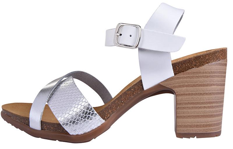 Marila Dámske sandále 2836 / EA-36 Vaq. Multi blanco 36
