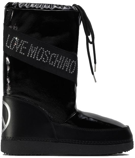 Love Moschino Dámske snehule JA24022G1BIW 1000 39-40