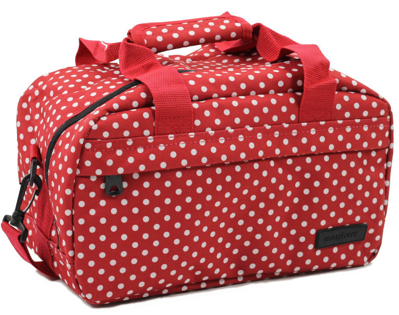 794d0a602dac6 Member's Cestovná taška 20L SB-0043 červená / biela
