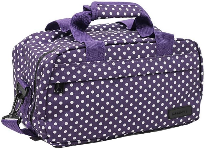 Member's Cestovní taška 14L SB-0043 fialová/bílá