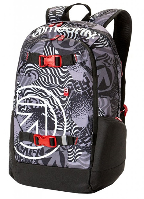 980a681ec02 Meatfly Batoh Basejumper 4 Backpack H-Numb Black