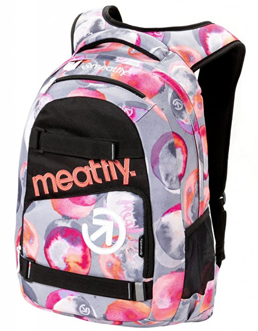 Meatfly Batoh Exile 3 Backpack F- Blossom Grey