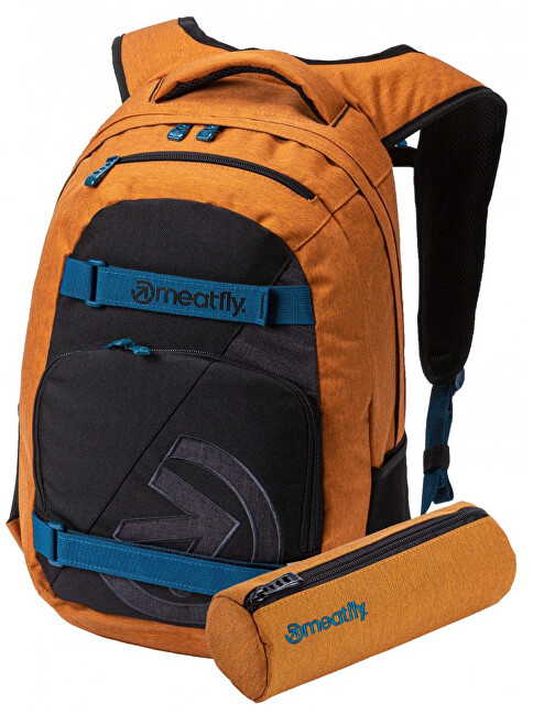 Meatfly Rucsac Exile 4 C-Ht. Camel, Black, Ht. Charcoal