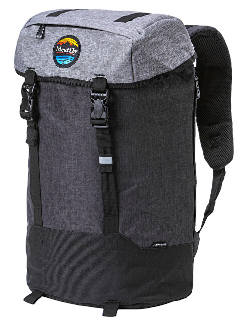 Meatfly Rucsac Pioneer 4 D-Ht. Grey, Ht. Charcoal, Black