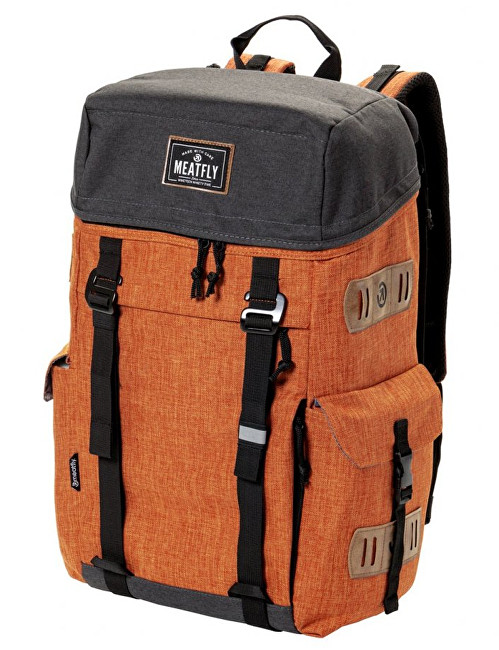 86c460153d Meatfly Batoh Scintilla Backpack D-Heather Brown Oak