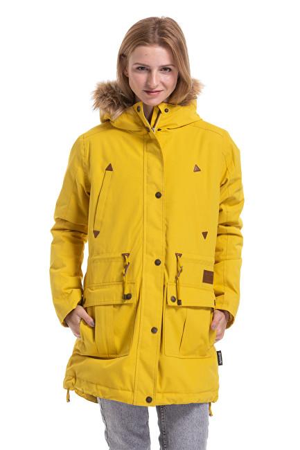 Meatfly Dámska bunda Rainy 3 Parka Yellow S