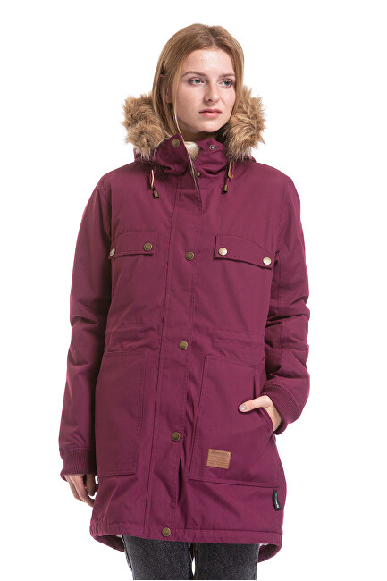 Meatfly Dámska bunda Ruby 2 Parka Purple S