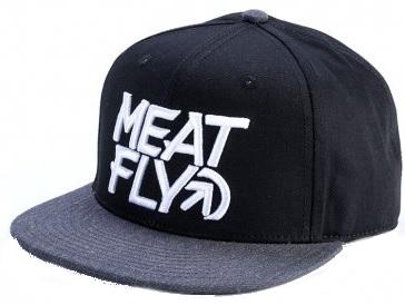 Meatfly Kšiltovka Motion Snapback D-Black 49f1433fbb