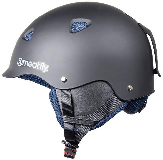 Meatfly Lyžiarska prilba Snow 17 Helmet B - Black Matt L 2ddd8740b8c