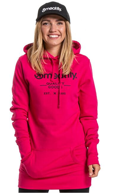 Meatfly Dámska mikina Jinx Hot Pink S