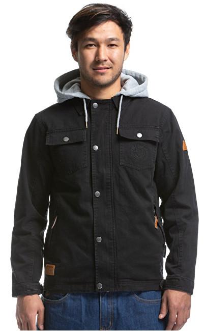 Meatfly Pánska bunda Taras Cotton Jacket A-Black XL