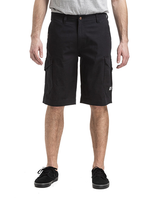 Meatfly Pantaloni bărbați Icon 19 Shorts A-Black 32