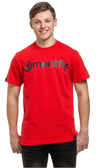 Meatfly Tricou pentru bărbați Logo G-Red M