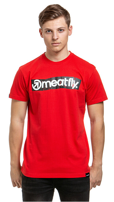 Meatfly Tricou pentru bărbați Stomp 2 B-Red XL