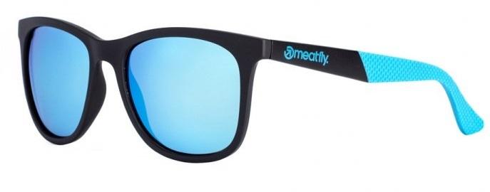 Meatfly Slnečné okuliare Clutch Sunglasses B-Black, Blue
