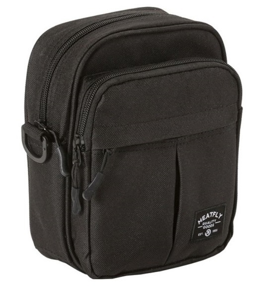 Meatfly Taška Hardy Small Bag A-Black