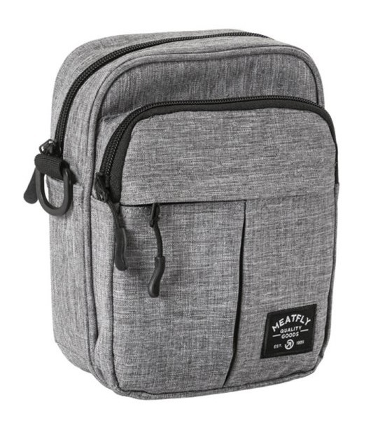 Meatfly Taška Hardy Small Bag B-Heather Grey