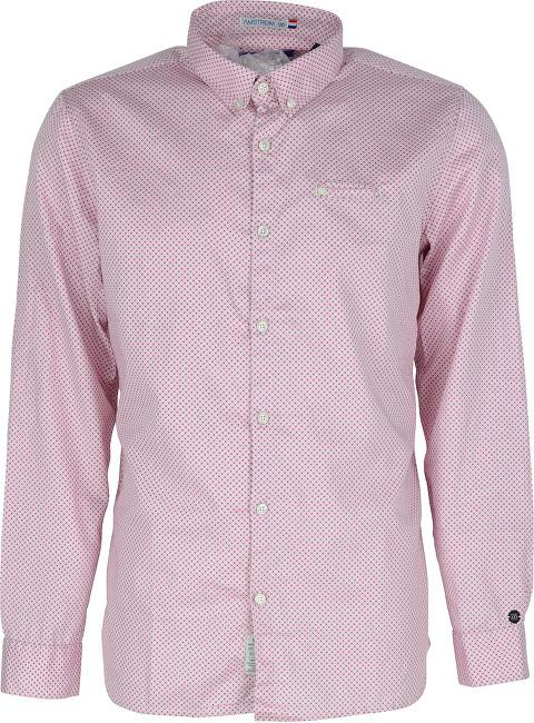 55a358efdfd4 Hodinky Noize Pánska košeľa Bright Pink 4446105-00 M