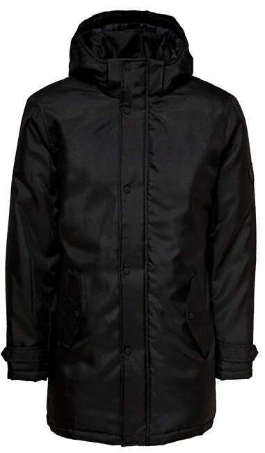ONLY&SONS Pánska bunda ONSFAVOUR WALTHER PARKA JACKET OTW Black L